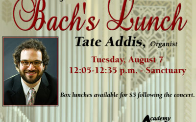 Bach's Lunch Organ Concert