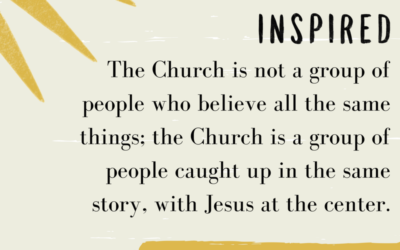 Scriptural Imagination: What do we mean when we say the Bible is inspired?