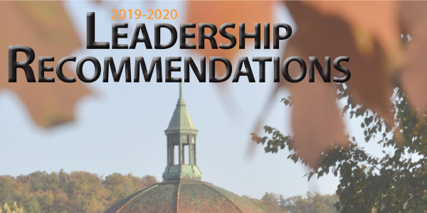 Leadership Selection Recommendations