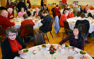 Youth/Senior Adult Valentine Banquet, Sunday, February 9 at Noon in the FBCA Dining Room
