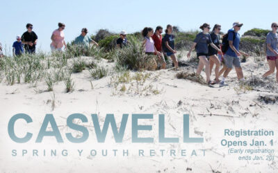 Caswell, Youth Spring Retreat