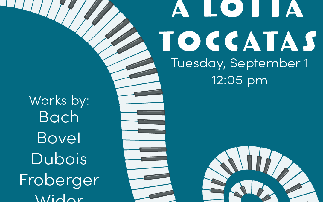 Bach's Lunch Organ Concert – September 2020