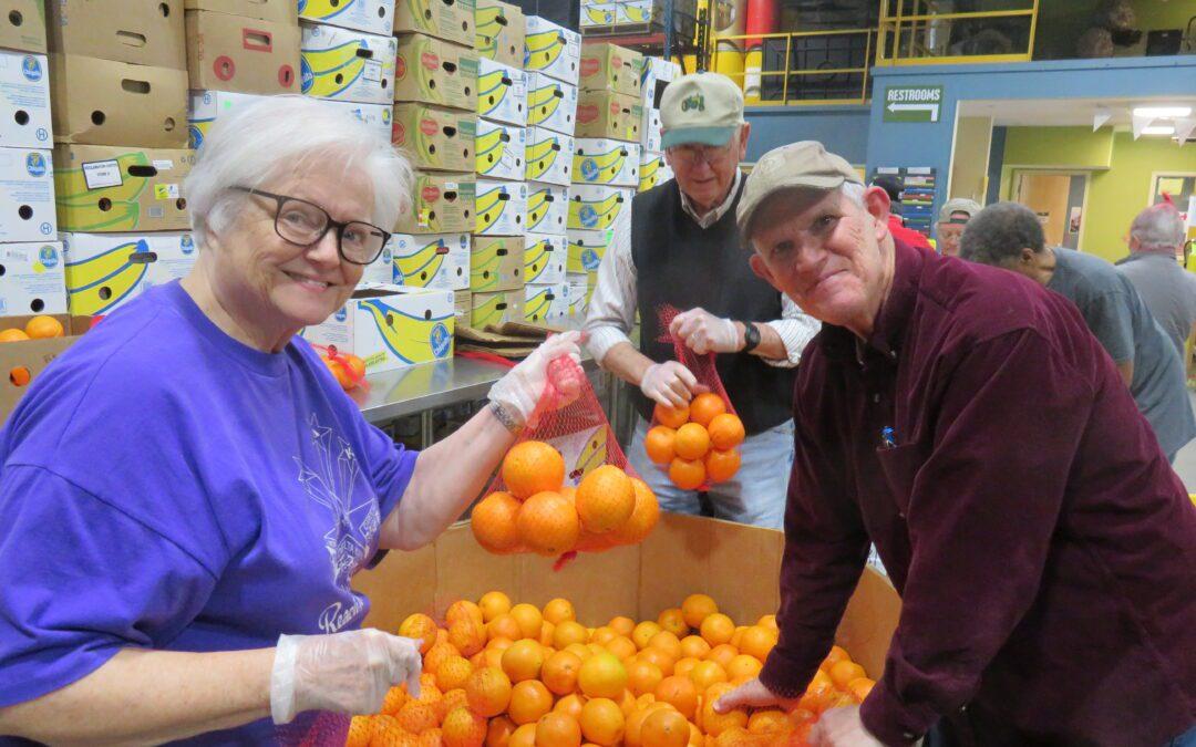 Senior Adult Manna Foodbank  Team